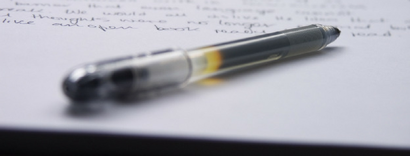 Writing pen and pad